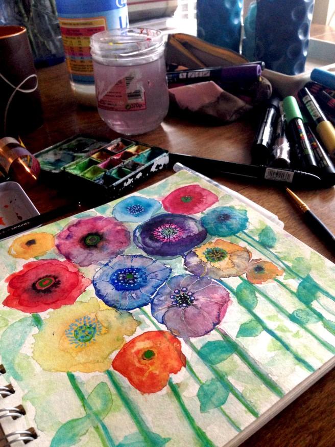 sennelier watercolour