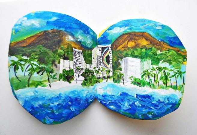 Hilton hawaiian village waikiki beach resort honolulu. Aloha artists book