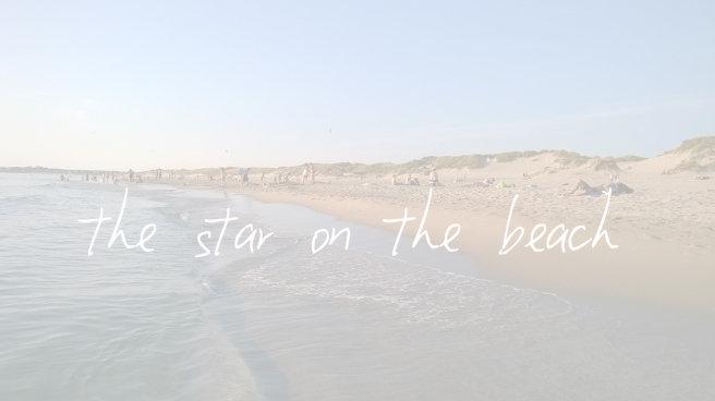 the star on the beach