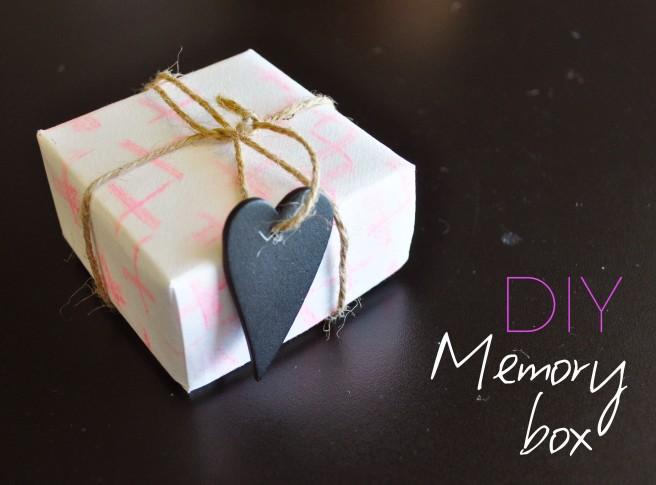memory DIY box
