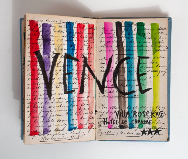 Art journal. Vence