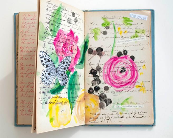 Flower, Art journal