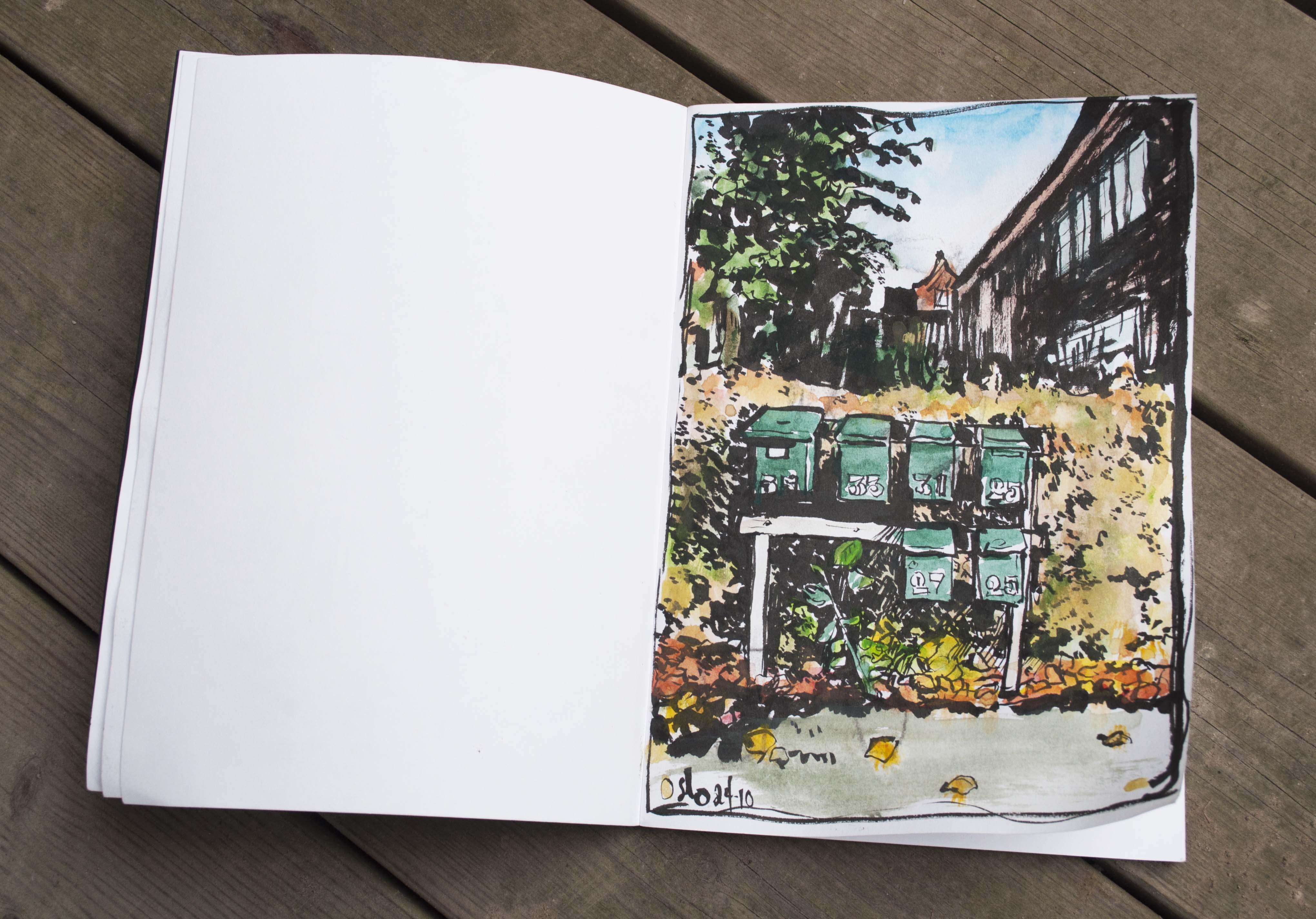 Permanent Sketch Book: Sketchbook Inspiration