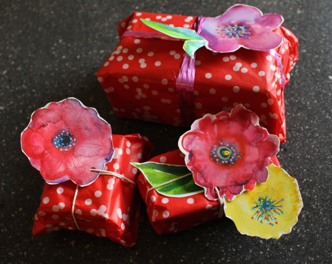 Last minute wrapping idea