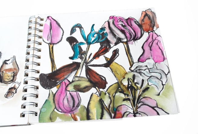 AQUARELLE HAHNEMÜHLE. How to be creative, watercolours , watercolour. ink. My sketch bok. learn to draw. flowers watercolour flowers. creativity course,