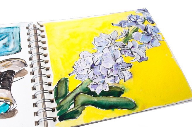 How to be creative, watercolours , watercolour. ink.