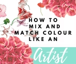 how to mix colors , free course . art course for free